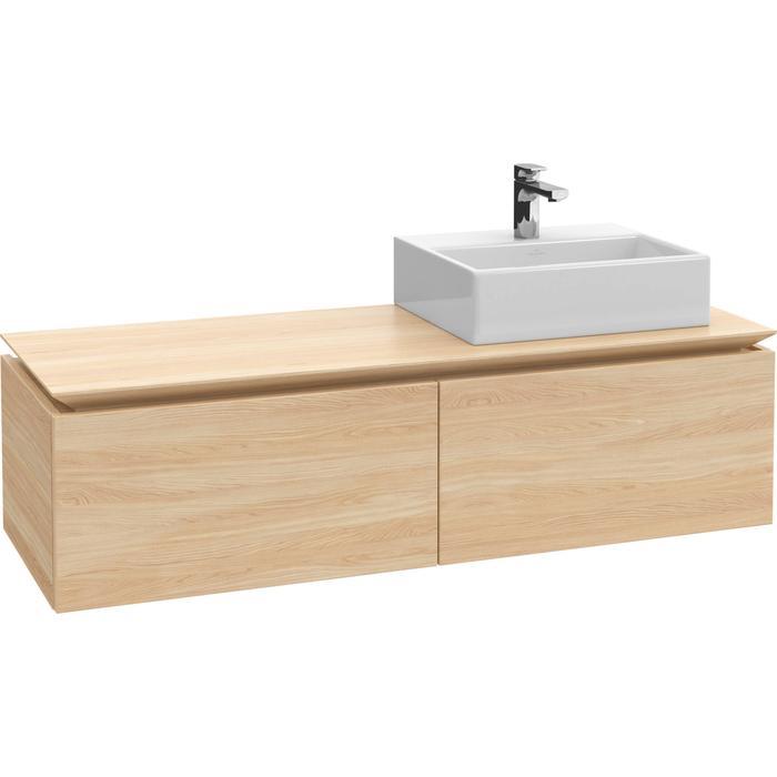 Villeroy & Boch Legato Wastafelonderkast 160x50x38  cm Santana Oak
