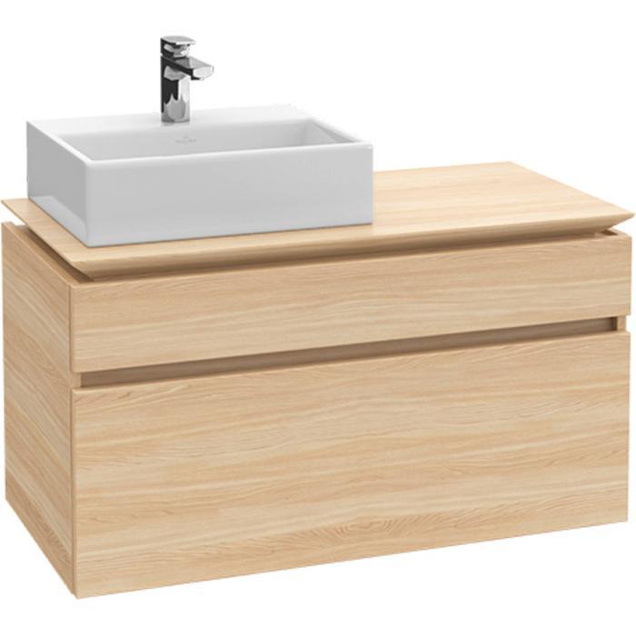 Villeroy & Boch Legato Wastafelonderkast 100x50x55  cm Santana Oak