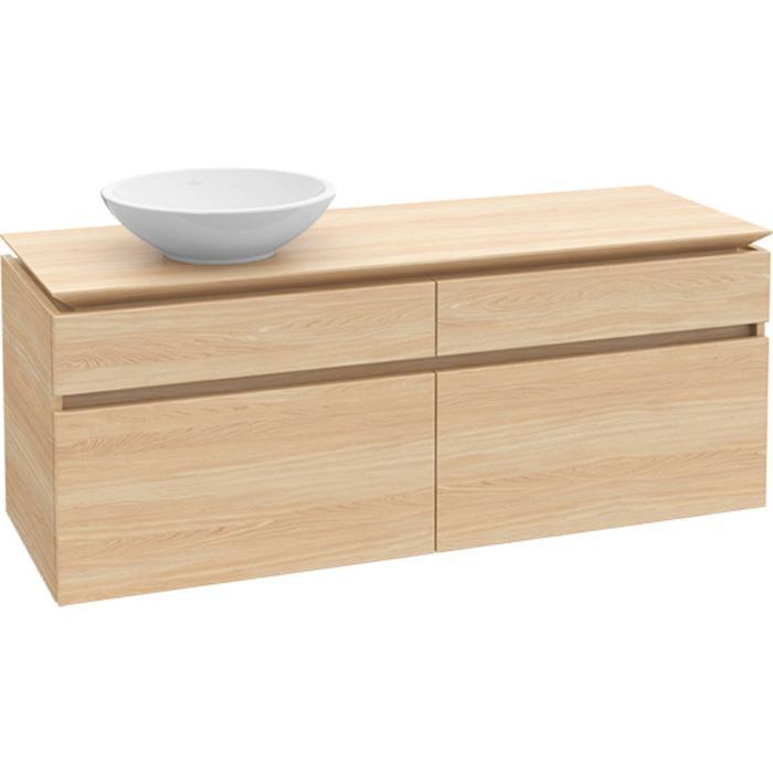Villeroy & Boch Legato Wastafelonderkast 120x50x55  cm Santana Oak
