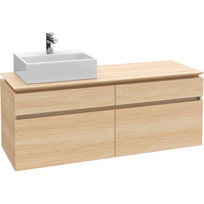 Villeroy & Boch Legato Wastafelonderkast 140x50x55  cm Glossy Wit