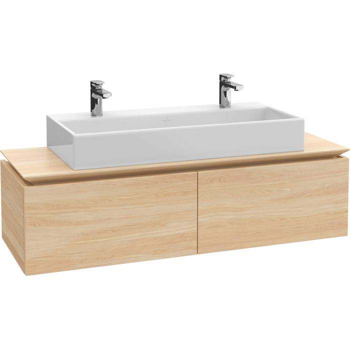 Villeroy & Boch Legato Wastafelonderkast 120x50x38  cm Santana Oak