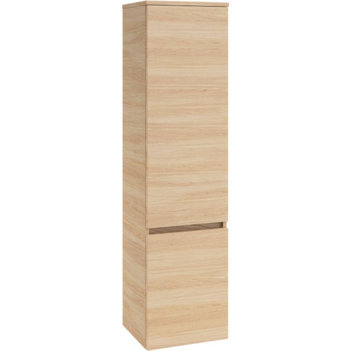 Villeroy & Boch Legato kast hoog 40x35x155 cm. met 2 deuren rechts Santana Oak