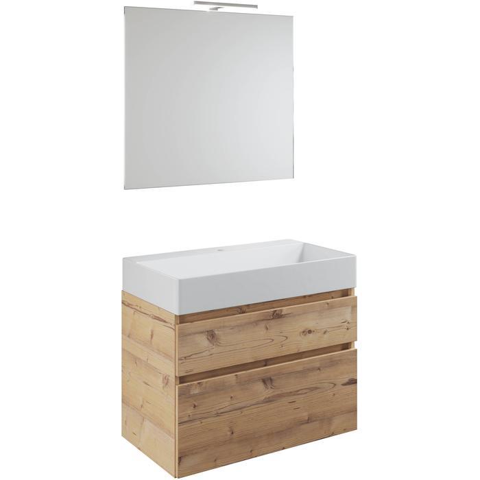 Primabad Blend Meubelset 60x46x56 cm Leather Grey