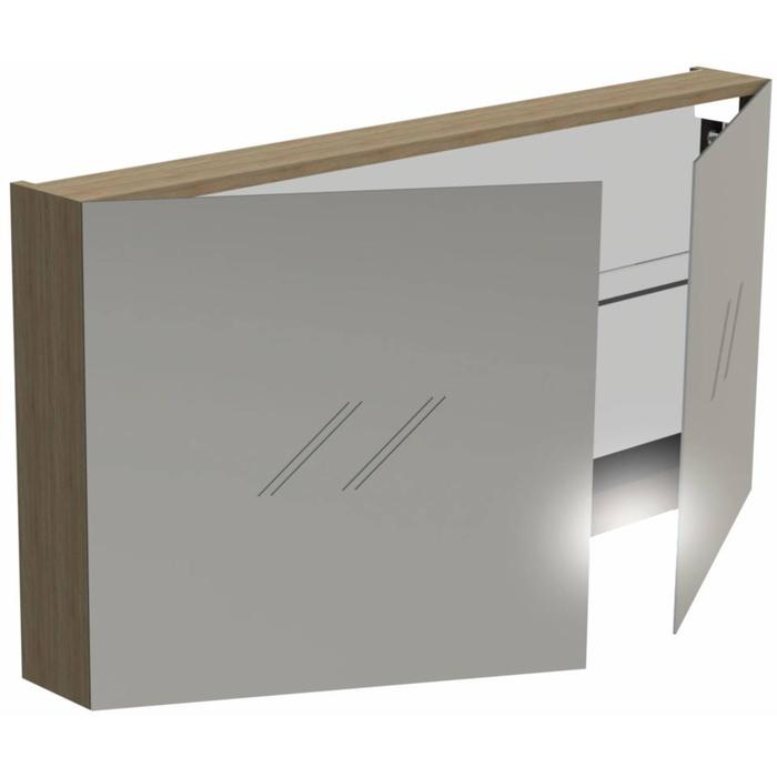 Thebalux Basic Wastafelbovenkast 120x13,5x60 cm Bardolino Eiken