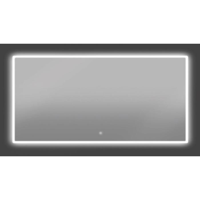 Thebalux Bright LED spiegel 140x60x3,5 cm Alu frame