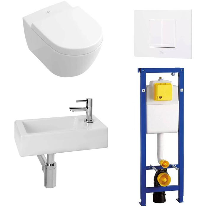 Combideal Toiletruimte Villeroy & Boch Subway 2.0/Combi-Pack M Rechts
