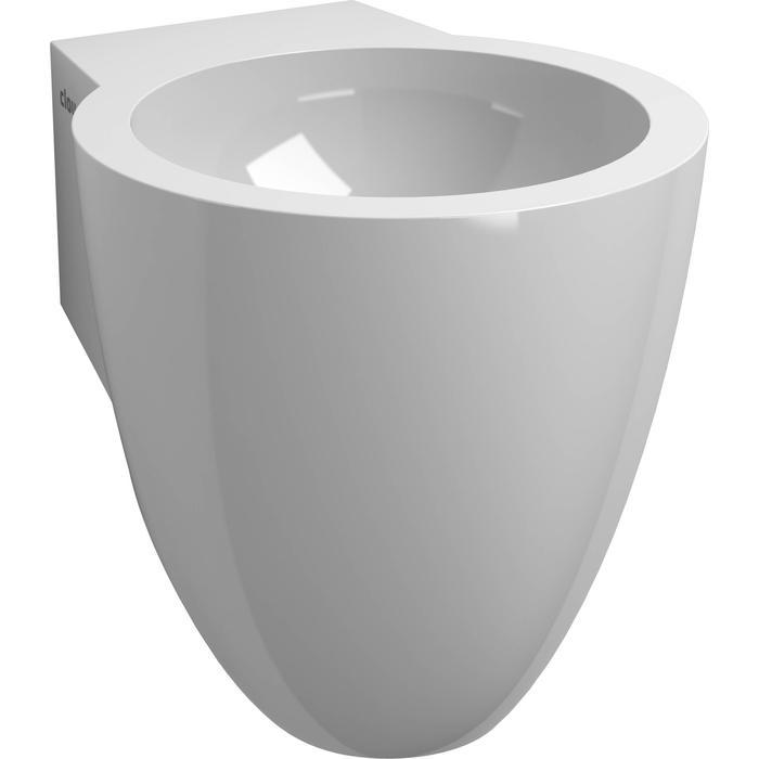 Clou Flush 6 Fontein met voorbewerkt kraangat 27x31,5x28 cm Wit