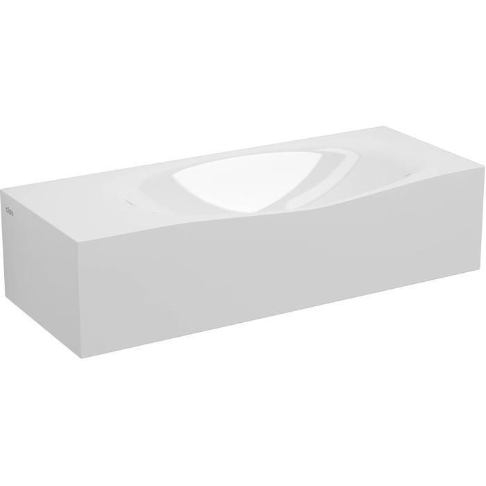 Clou Hammock Plus Fontein voorbewerkt kraangat  65x25,4x16 cm  Wit