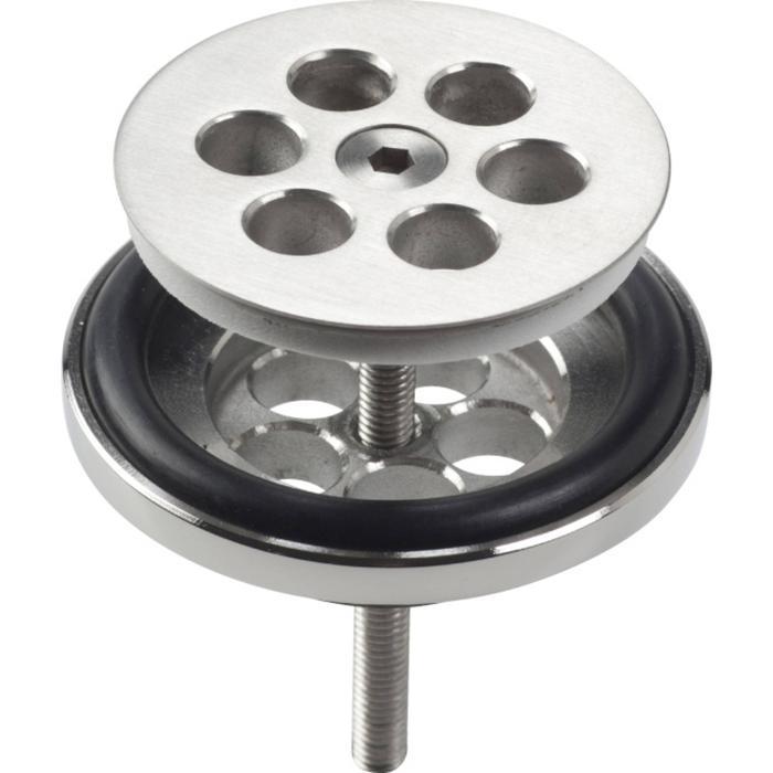 Clou Mini Wash Me Plug RVS Geborsteld