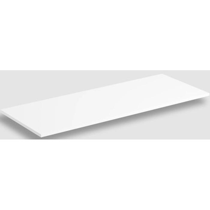 Clou Wash Me Frame Planchet 106,8x42x1,5 cm Mat Wit Aluite