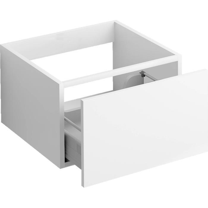 Clou Hammock Badmeubelkast Laag 40x50,3x30 cm Mat Wit
