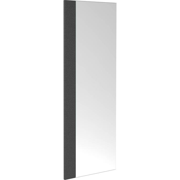 Clou First Spiegel met strip 30x2x80 cm Basalt Gezoet