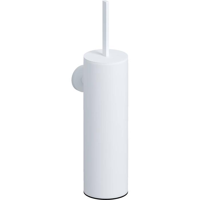 Clou Flat Toiletborstelgarnituur wand 8x11,5x35 cm Mat Wit