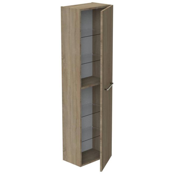 Thebalux Ceramic Line Hoge Kast 45x29x165 cm Natural Oak