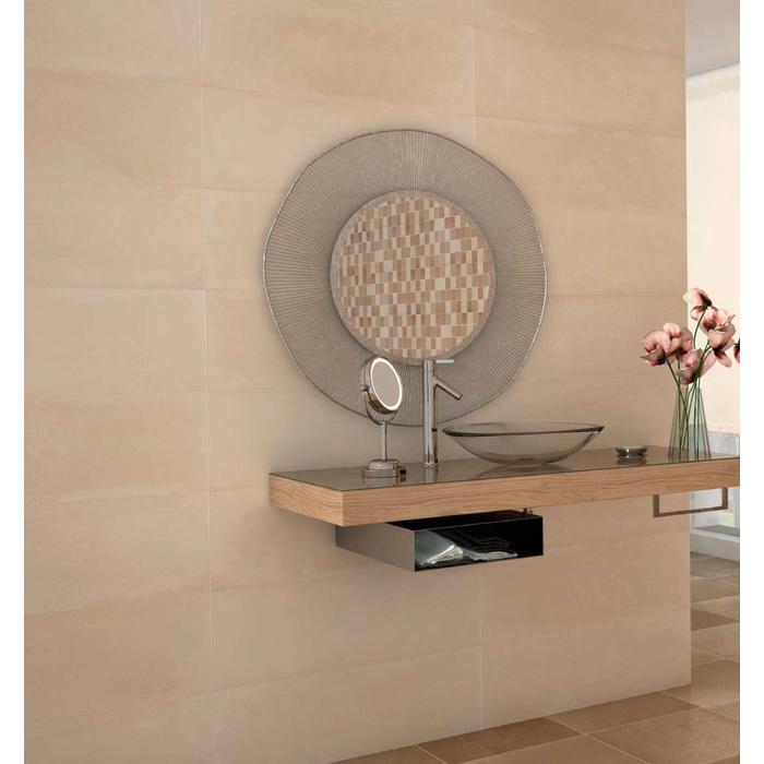 Wandtegel Myr Concret 25x75x- cm Beige 1,13M2