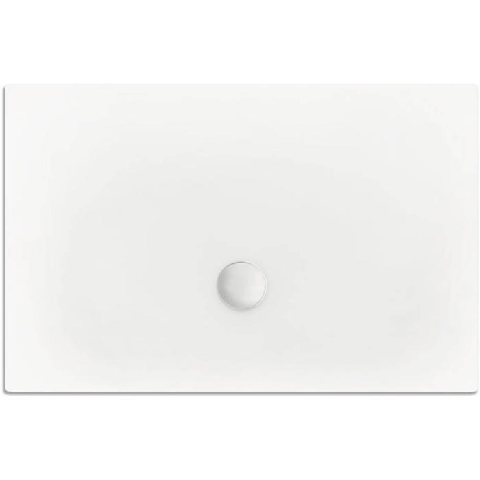 Xenz Flat Douchebak 120x80x3,5 cm Edelweiss