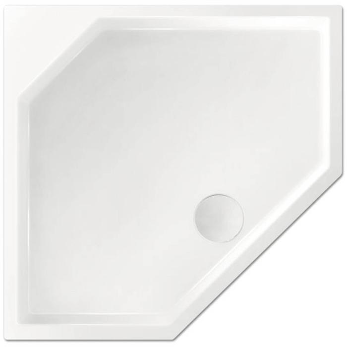 Xenz Marshall Douchebak 90x90x4 cm Cement