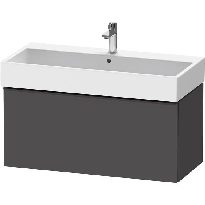 Duravit D-Neo onderkast 98,4x44,2x44cm Grafiet