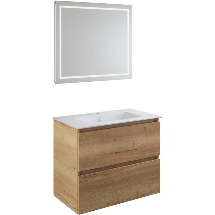 Primabad Dawn Meubelset 140x46x65 cm Mountain Pine