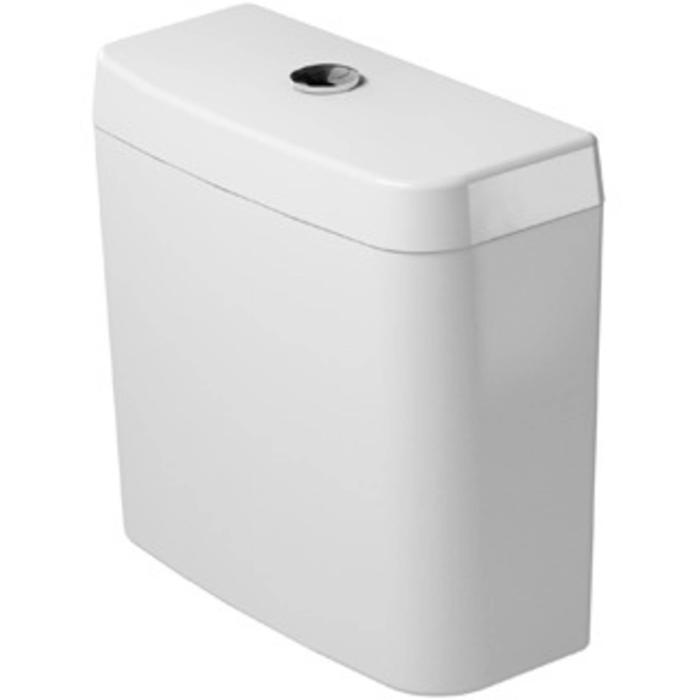 Duravit D-Code reservoir dual flush Wit