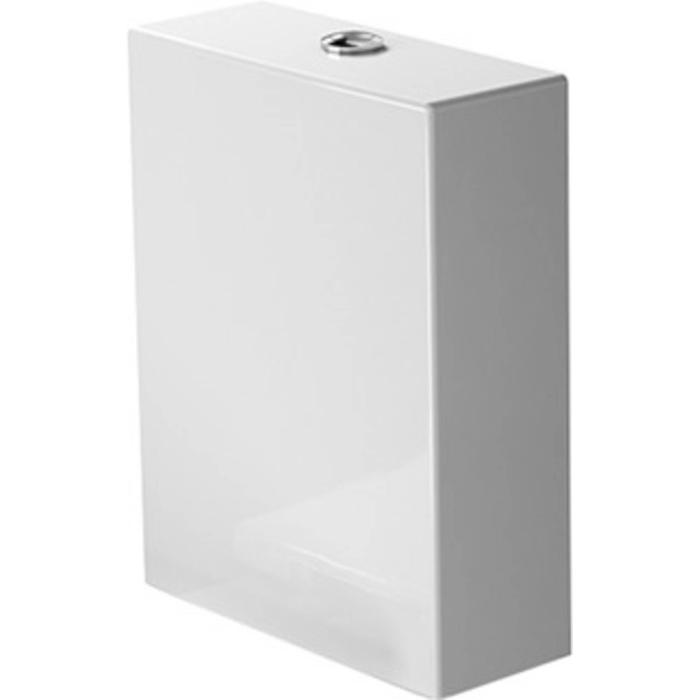 Duravit Starck 2 Duoblokreservoir 4,5/3L aansluiting links Wit