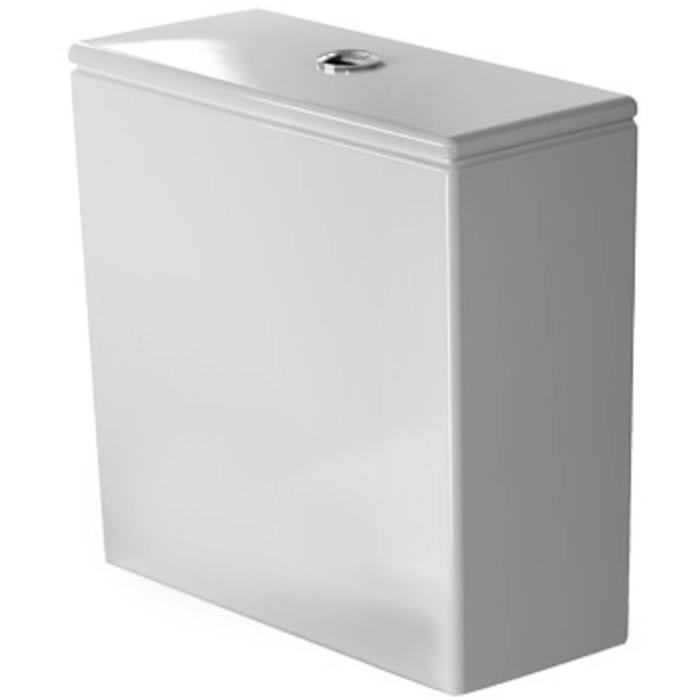 Duravit Starck 2 Duoblokreservoir 4,5/3L aansluiting links WonderGliss Wit
