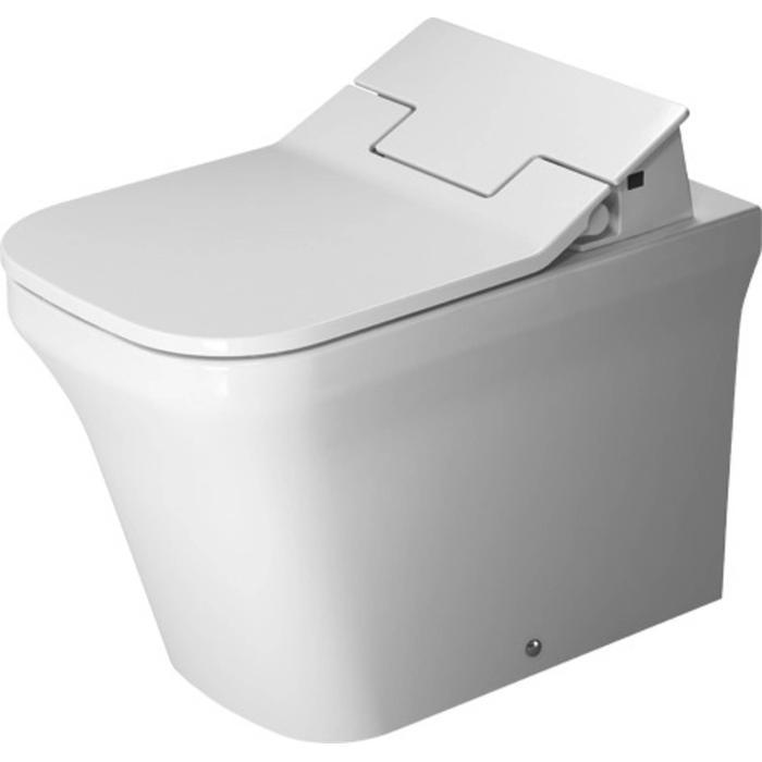 Duravit P3 Comforts Staande Pot Rimless Back-to-wall voor SensoWash Wit