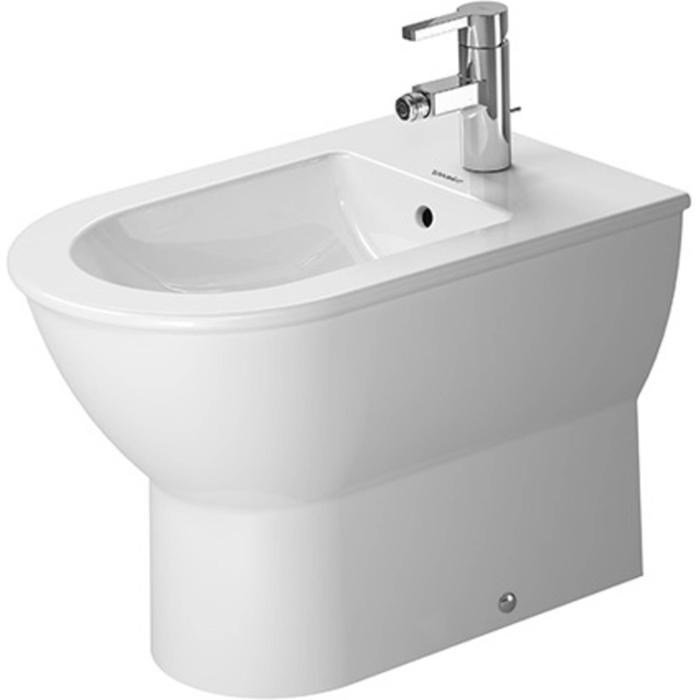 Duravit Darling New Staand Bidet 57cm WonderGliss Wit