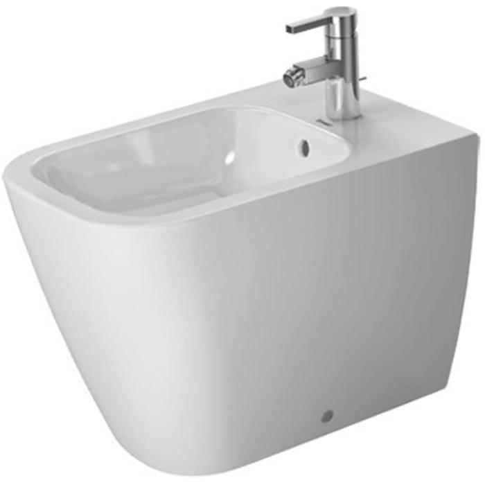 Duravit Happy D.2 Staand bidet Back-to-Wall Wit