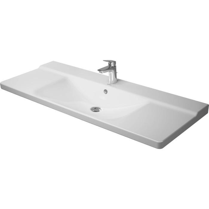 Duravit P3 Comforts Meubelwastafel 125x49,5 cm Wit