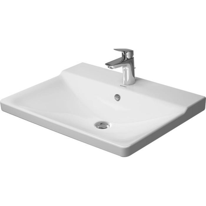 Duravit P3 Comforts Meubelwastafel 65x49,5 cm WonderGliss Wit