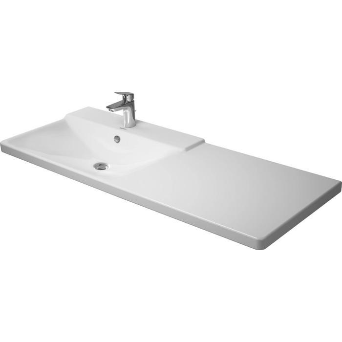Duravit P3 Comforts Meubelwastafel 125x49,5 cm WonderGliss Wit