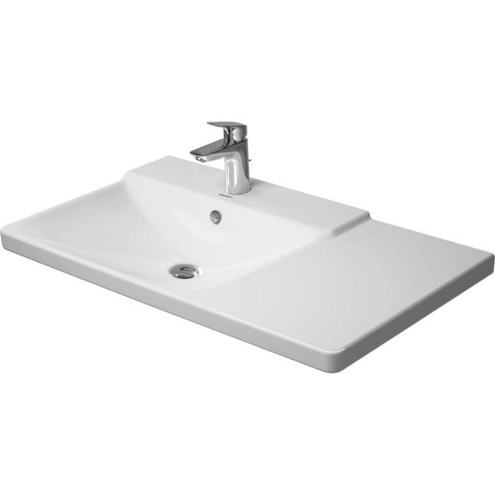 Duravit P3 Comforts Meubelwastafel 85x49,5 cm WonderGliss Wit