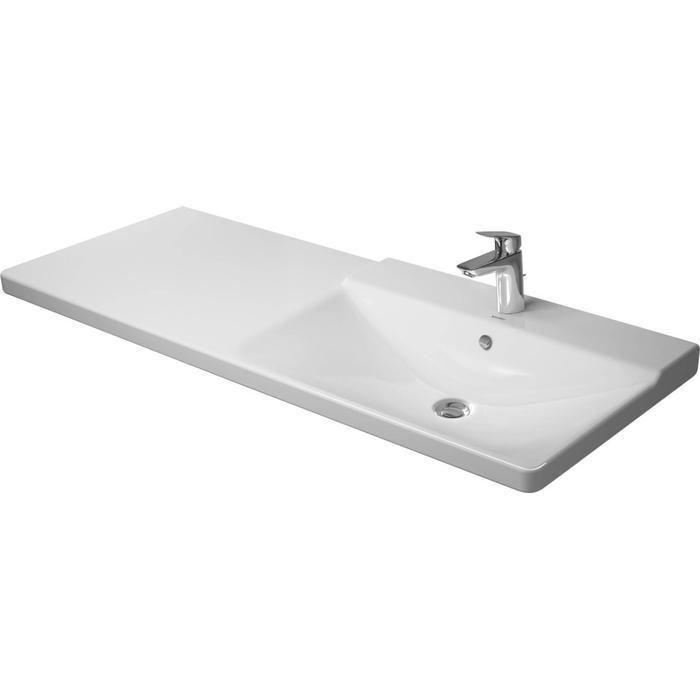 Duravit P3 Comforts Meubelwastafel 125x49,5cm wit