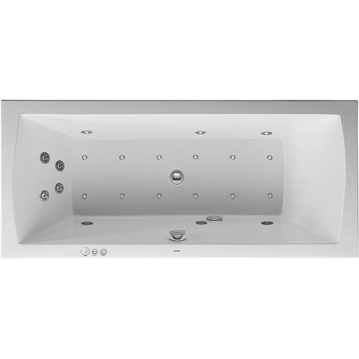 Duravit Daro Systeembad 185 liter Acryl 180x80 cm Wit