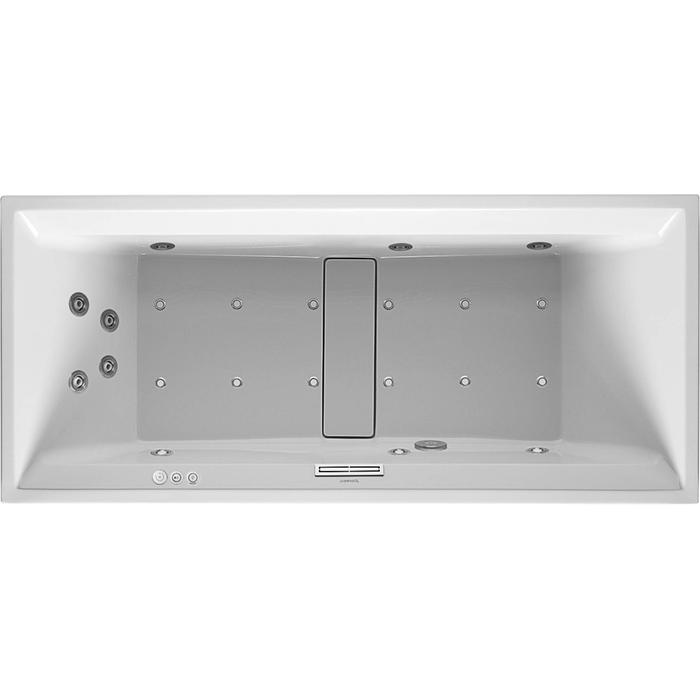 Duravit 2nd floor Systeembad 240 liter Acryl 180x80 cm Wit