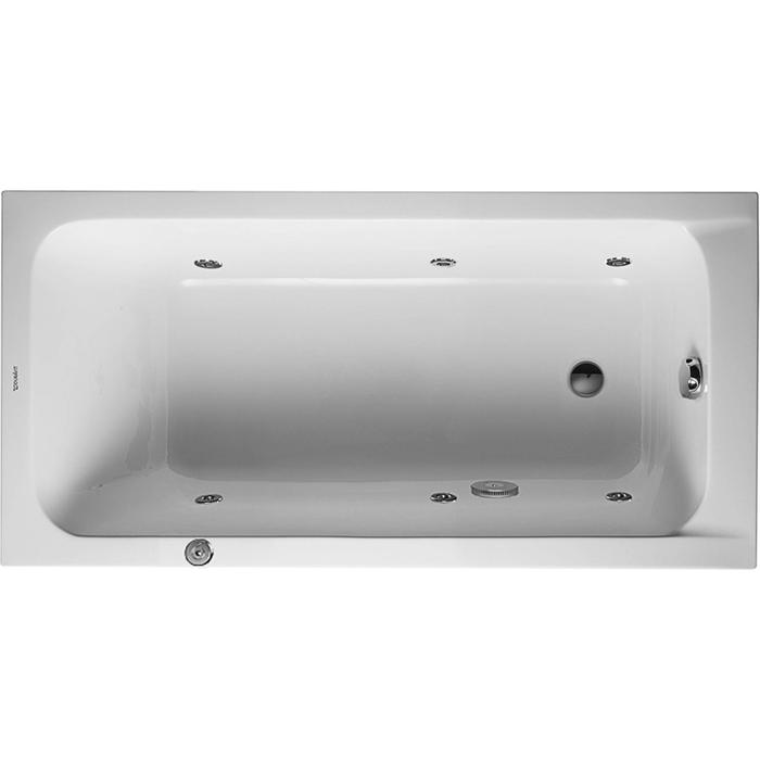 Duravit D-Code Systeembad 95 liter Acryl 150x75 cm Wit