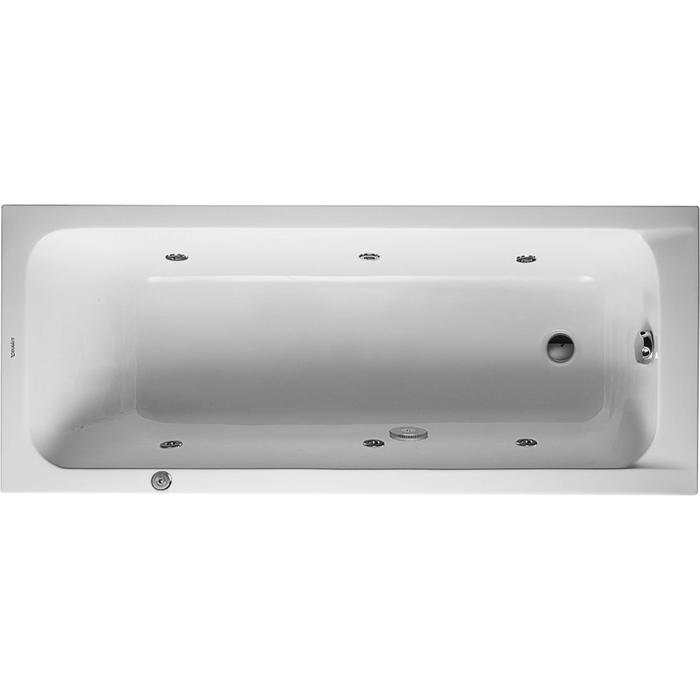 Duravit D-Code Systeembad 110 liter Acryl 170x70 cm Wit