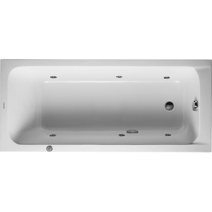 Duravit D-Code Systeembad 120 liter Acryl 170x75 cm Wit