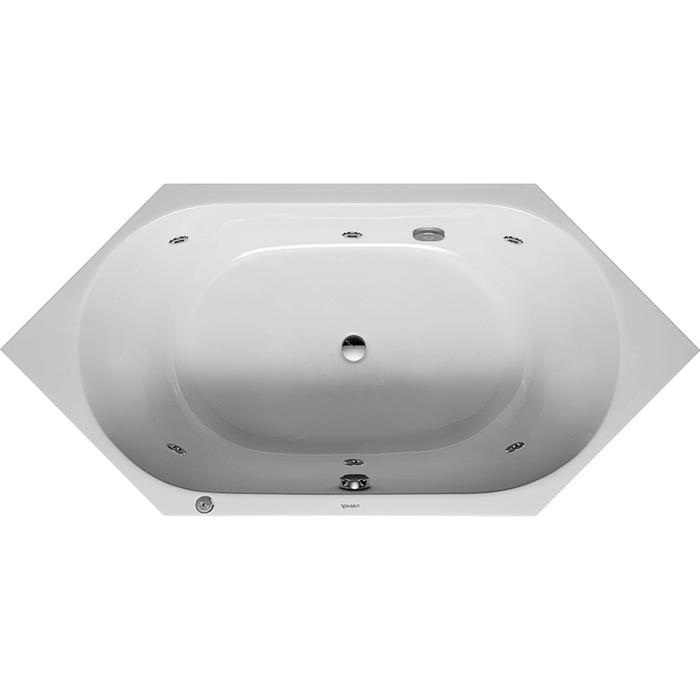 Duravit D-Code Systeembad 140 liter Acryl 190x90 cm Wit
