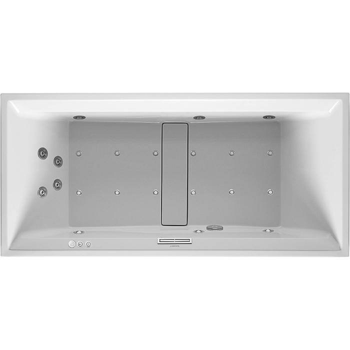 Duravit 2nd floor Systeembad 280 liter Acryl 190x90 cm Wit