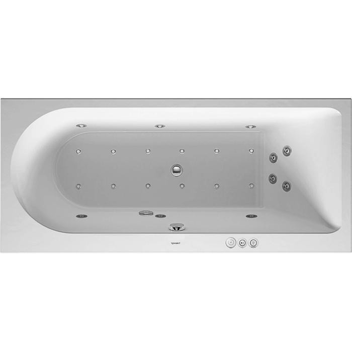 Duravit Darling New Systeembad 160 liter Acryl 170x75 cm Wit