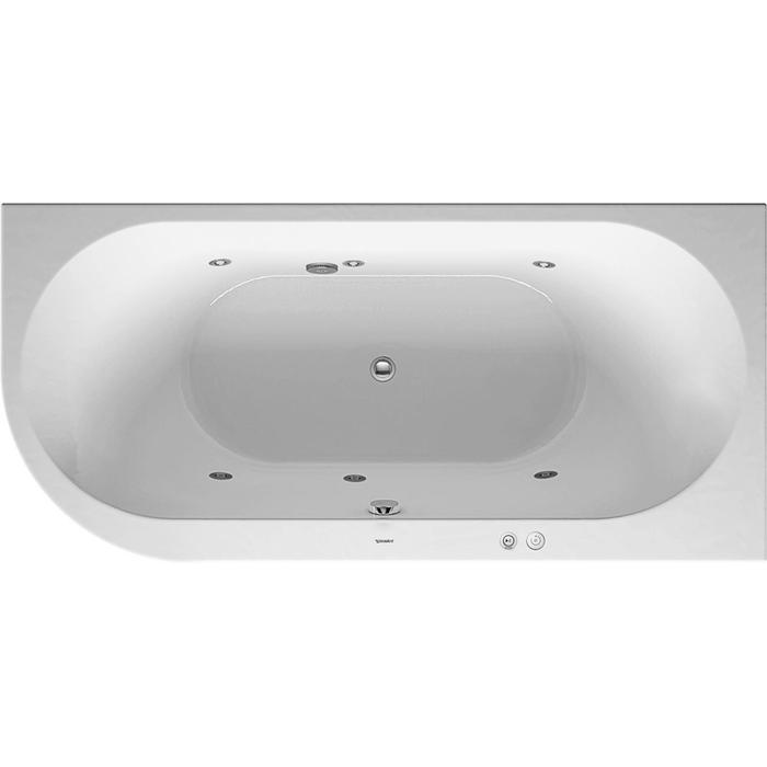 Duravit Darling New Systeembad 185 liter Acryl 190x90 cm Wit