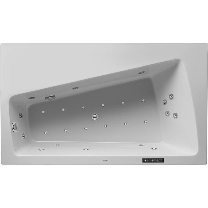 Duravit Paiova Systeembad 195 liter Acryl 170x100 cm Wit
