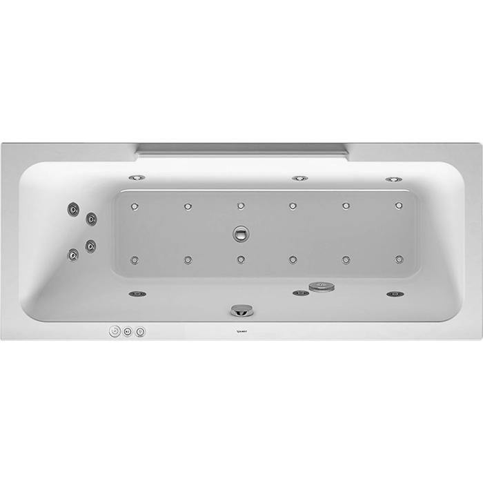 Duravit DuraStyle Systeembad 140 liter Acryl 170x70 cm Wit
