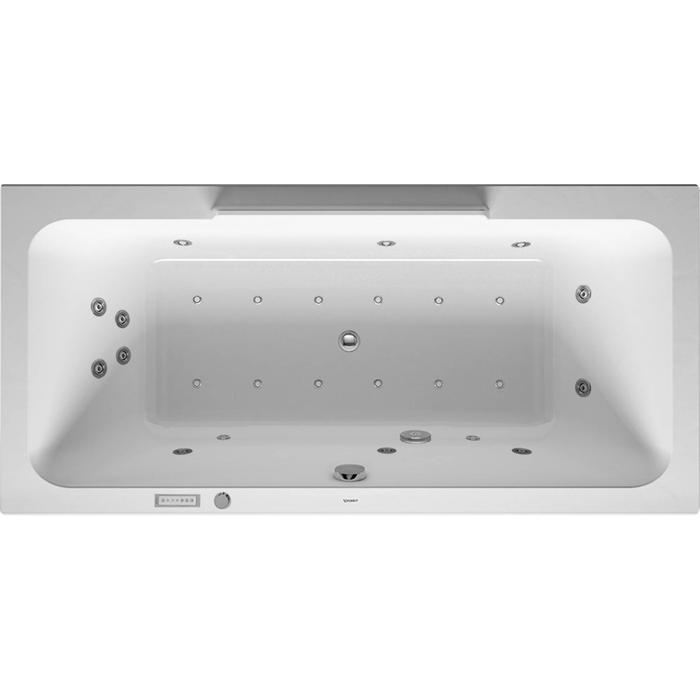 Duravit DuraStyle Systeembad 250 liter Acryl 190x90 cm Wit