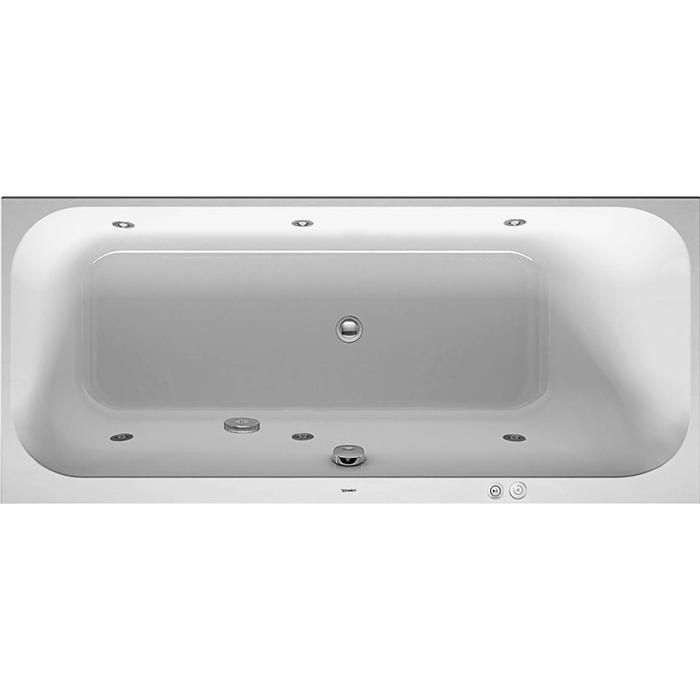 Duravit Happy D.2 Systeembad 145 liter Acryl 160x70 cm Wit