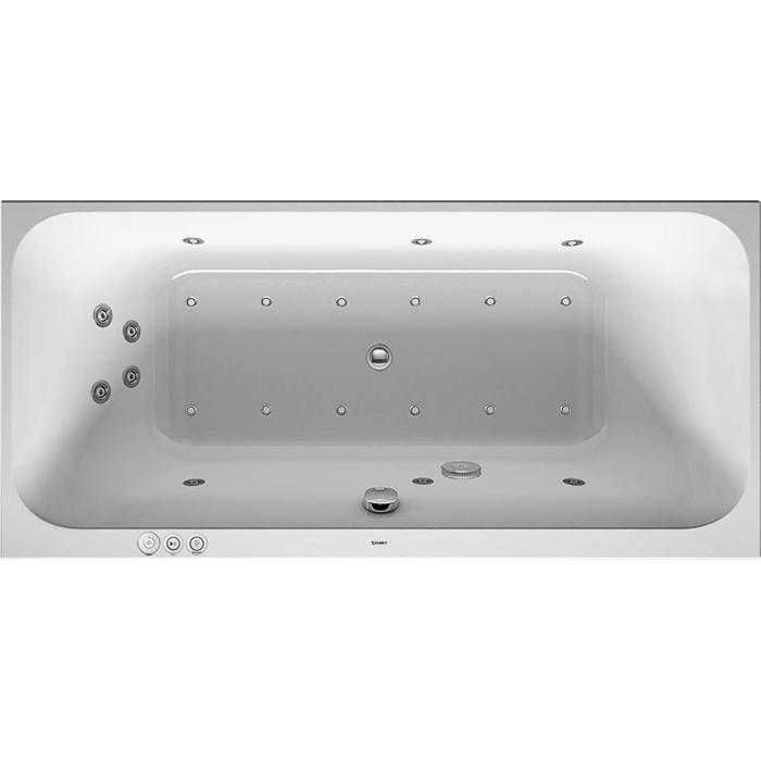 Duravit Happy D.2 Systeembad 180 liter Acryl 190x90 cm Wit