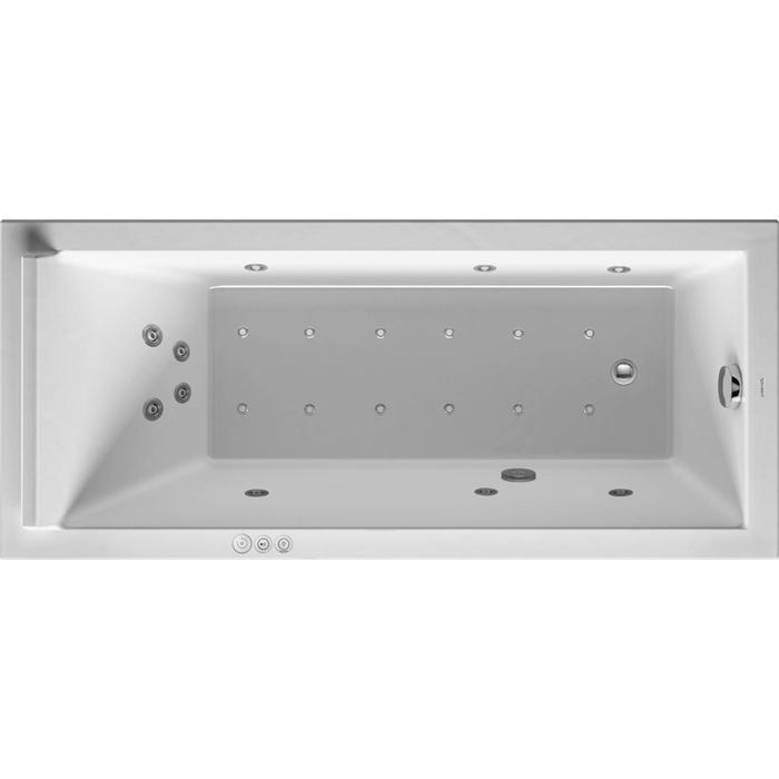 Duravit Starck Systeembad 135 liter Acryl 160x70 cm Wit