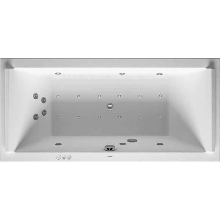 Duravit Starck Systeembad 174 liter Acryl 180x80 cm Wit